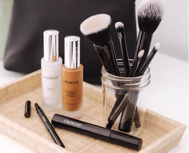 Crunchi Cosmetics toxin free cosmetics promoted by That Vibrant Life