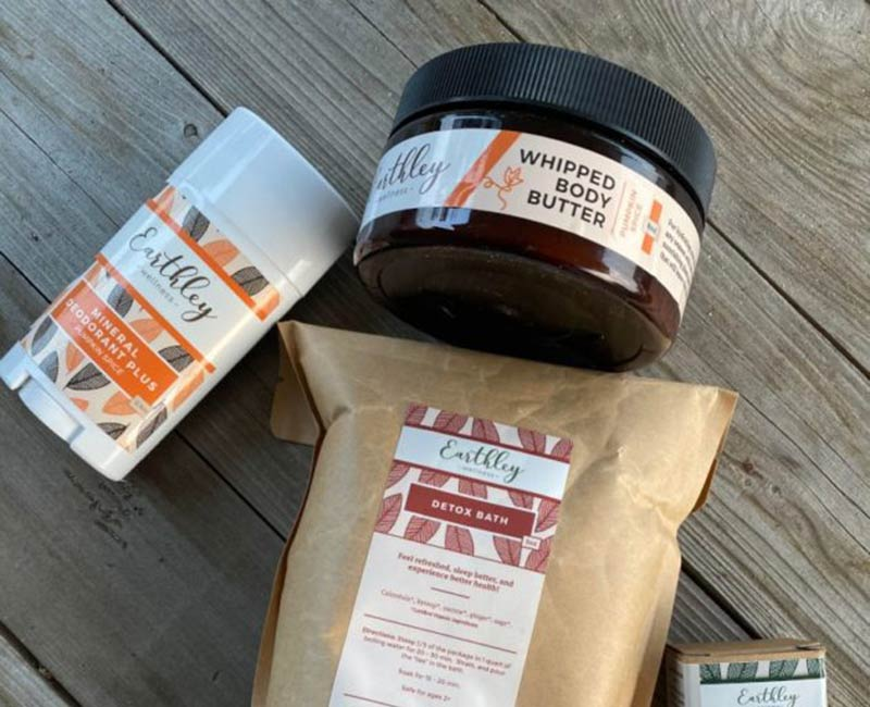 Earthley Wellness herbal remedies and body care