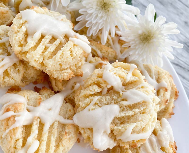 Keto Lemon Cookies Recipe from That Vibrant Life