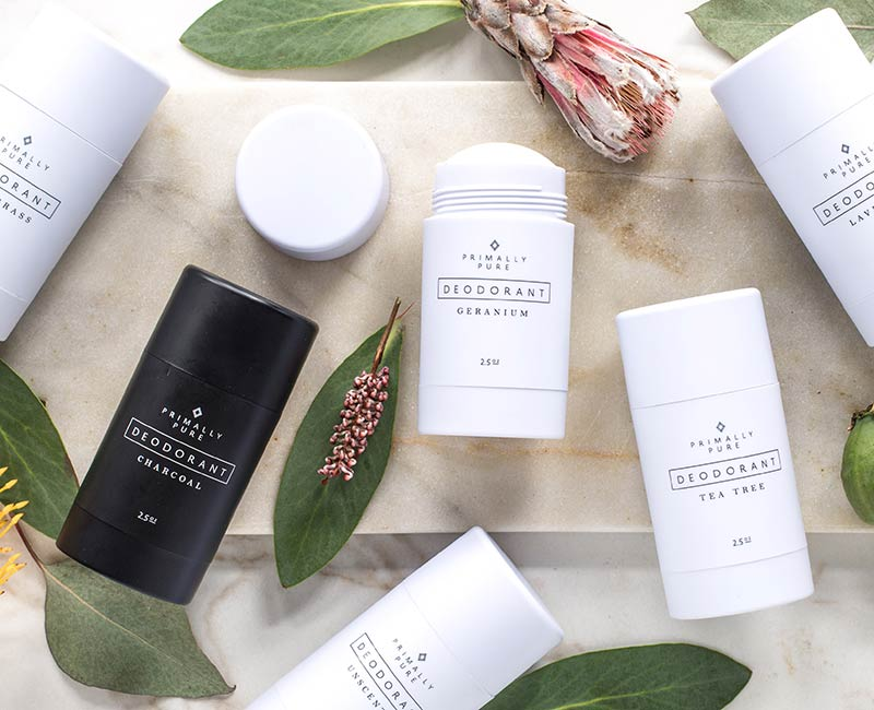 Primally Pure skincare and body products